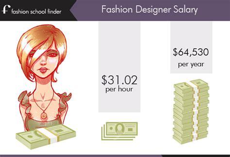 fashion designer salary fashion designer salary fashion school finder