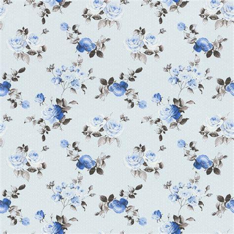 Rasch Tapete Blumen by Vliestapete Rasch Textil Blumen Hellblau Blau 288727