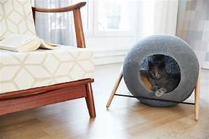 stylish cat beds and cocoons for the discerning pet With what kind of paint to use on kitchen cabinets for silver candle holders bulk