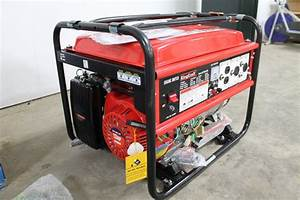 Kingcraft 6000 Watt 13hp Mobile Generator  Unused
