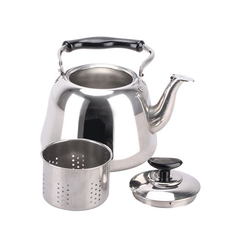 induction stove kettle teapot gas whistling stovetop tea electric stainless steel 1l pot 3l 2l 1pc teakettle