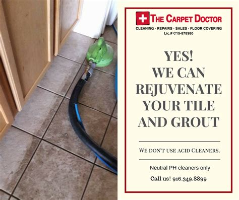 tile and grout cleaning the carpet doctor in sacramento