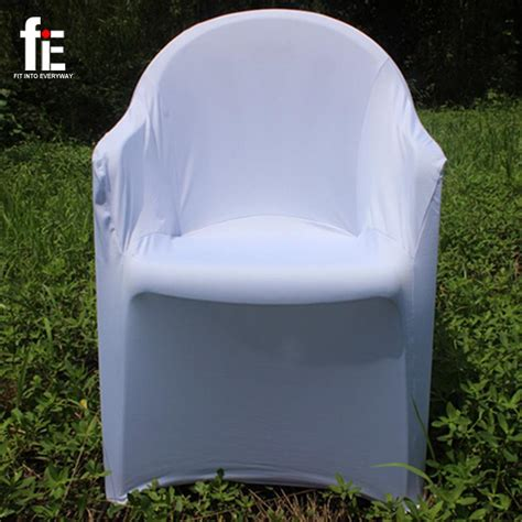 polyester spandex lycra arm chair cover plastic