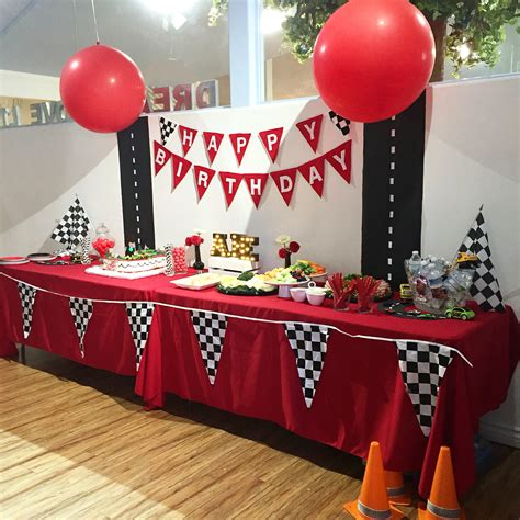 cars party table decor disney cars theme cars