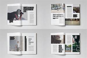 20 premium magazine templates for professionals for Magazine templates for pages