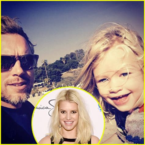 jessica simpson shares cute beach photo  daughter