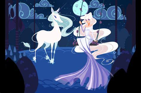 anime unicorn art the last unicorn by olive in pinkland on deviantart