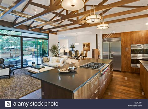 open kitchen living room floor plans open floor plan of house with kitchen living room and