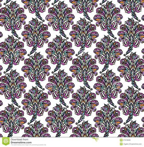floral seamless pattern  renaissance style stock photo