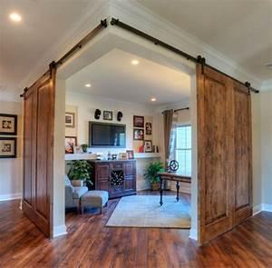 bringing sliding barn doors inside With barn doors for inside your house