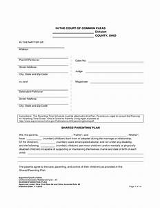 co parenting agreement template - free printable parenting plan how to be more successful