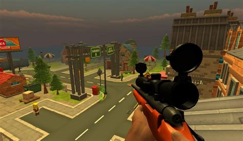 zombie shooting sniper town play game games zoom playplayfun