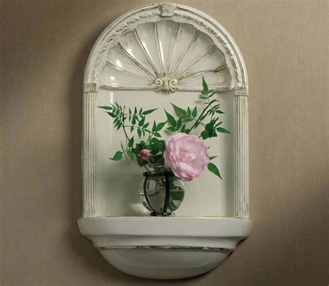 charlotte wall mount niche  design  wall niches