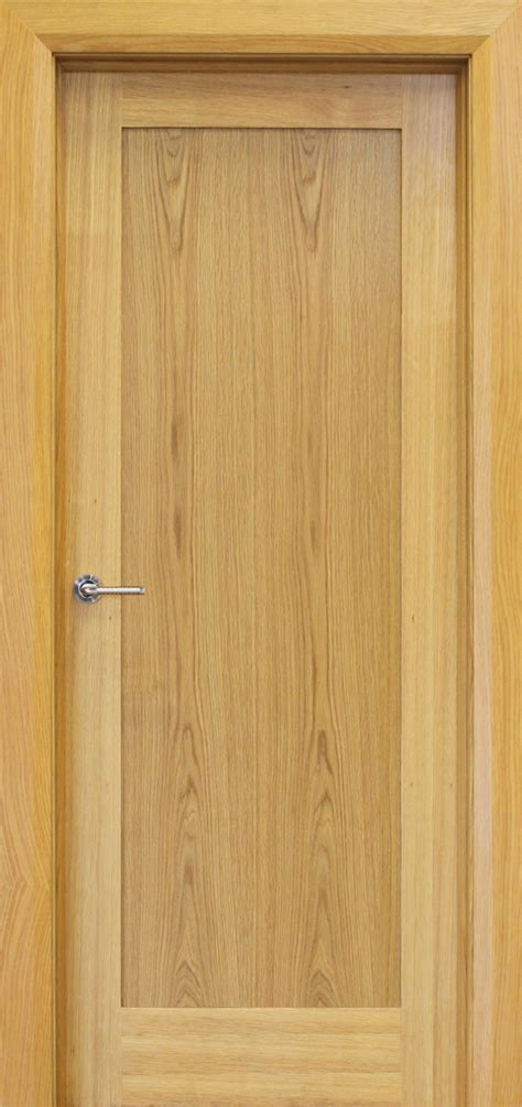 Oak Doors by Trade Spec Shaker 1 Panel Oak Door 40mm Doors