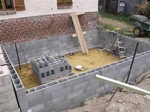 Construire sa piscine en parpaing 1 elevation parpaing for Comment construire sa piscine en parpaing