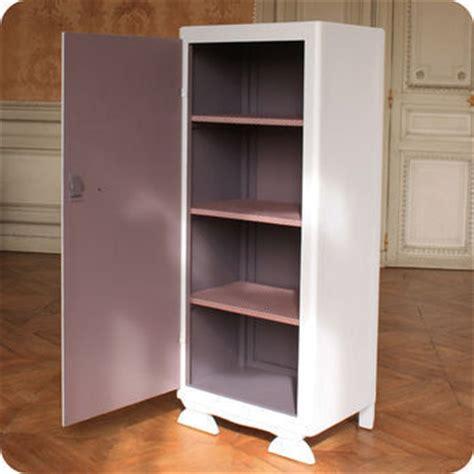 meubles vintage rangements armoire lingere annees