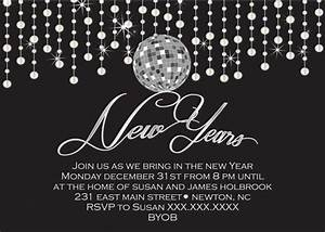 New Years Eve Party Printable Invitation by ...