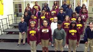 Anti Bullying Song Mckinley Middle 6th Grade Choir Youtube
