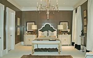 taupe walls french bedroom With what kind of paint to use on kitchen cabinets for hollywood glam wall art