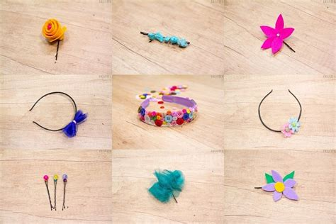 diy hair accessories    beautiful hairbands
