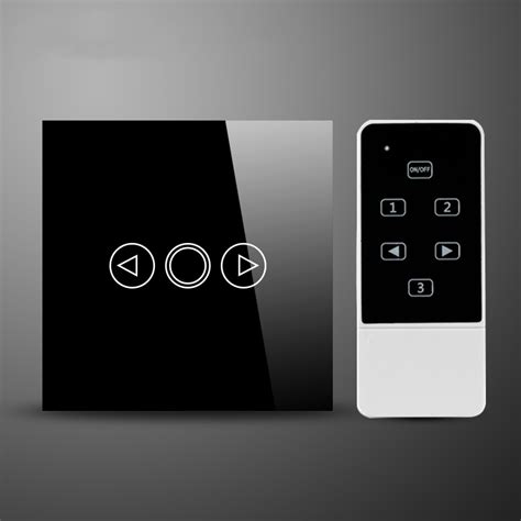 led dimmer eu standard touch glass and remote