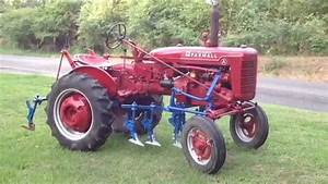 1953 Farmall Super A Tractor With Cultivators