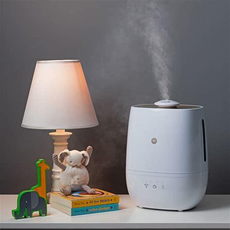 Taux Humidite Chambre Bebe - humidificateur connecté avec purification de l 39 air et de l