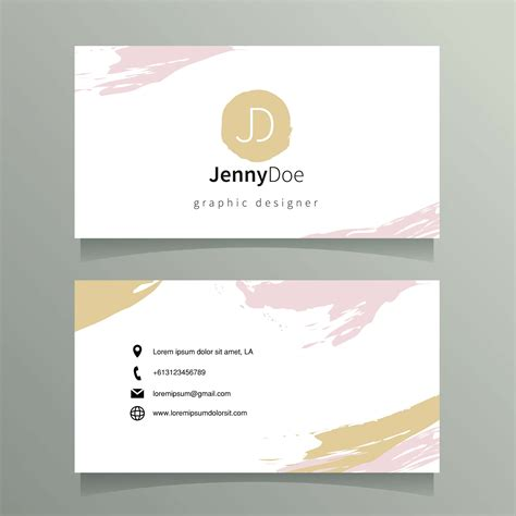 graphic designer  card template