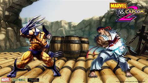 Marvel Vs Capcom 3 Wolverine Ryu Street Fighter