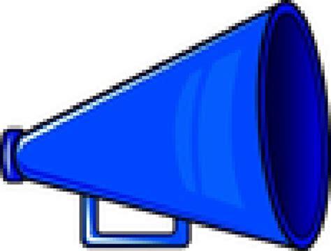 Megaphone Clipart Png Www Pixshark Images Blue Cheerleading Megaphone Www Pixshark Images