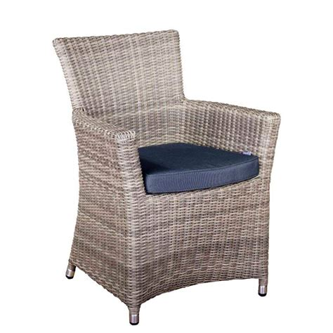 Oseasons Eden Rattan Armchair Champagne With Cushions On Sale