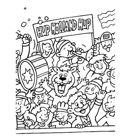 Psv Kleurplaat Printen by Leuk Voor Sport Voetbal Kleurplaten