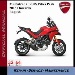 Ducati Multistrada 1200s Pikes Peak Workshop Service