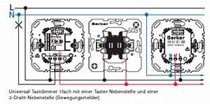 Gira Wechselschalter Anschließen : berker 85421200 universal tastdimmer dimmer ~ Orissabook.com Haus und Dekorationen