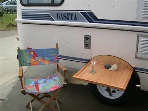 outdoor table fits  wheel   tire  casita rv camper rv camping camper hacks