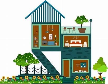 Outdoor Sketch Indoor Architecture Vector Graphic Vectors