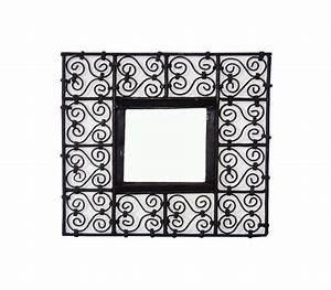 Petit Miroir Carré : cadre miroir carr petit mod le 40x40 au palais des ~ Teatrodelosmanantiales.com Idées de Décoration
