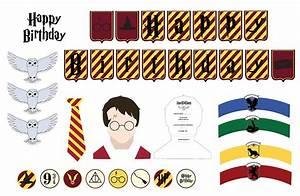 Deco Harry Potter Anniversaire : kit deco harry potter imprimer gratuitement sweet party day ~ Melissatoandfro.com Idées de Décoration