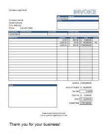 Smart Sheet Templates Invoice Template Excel Invoice Exle