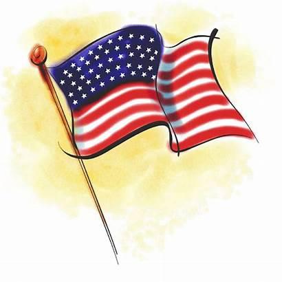 Flag Clip Clipart American Patriotic Flags Stars