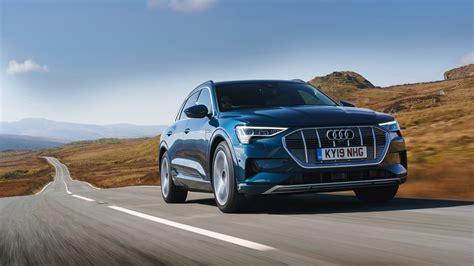 audi  tron review electric suv driven  uk roads car