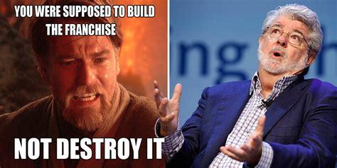 Star Wars Prequel Memes - savage star wars memes original trilogy vs prequels cbr