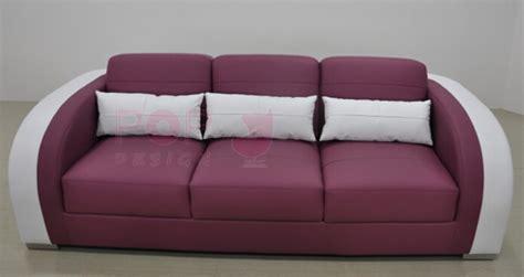 canapé mauve fauteuil canapés design en cuir poltroni en cuir