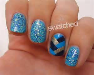 Image of: Blue Nail Design 20 Blue Nail Design Trend Fashion 2013 Blue Nail Designs To Beauty Your Nails