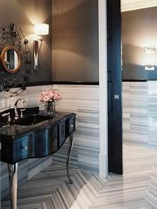 Eclectic, Bathroom, With, Pocket, Door