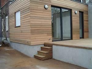 bardage entretien bois bardage bois exterieur nord 59 With type de bardage bois exterieur