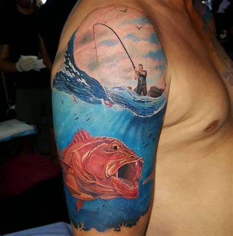fishing tattoos designs ideas  meaning tattoos