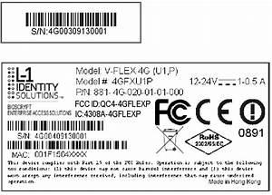 4gflexp Fingerprint Access Control Accessory  V