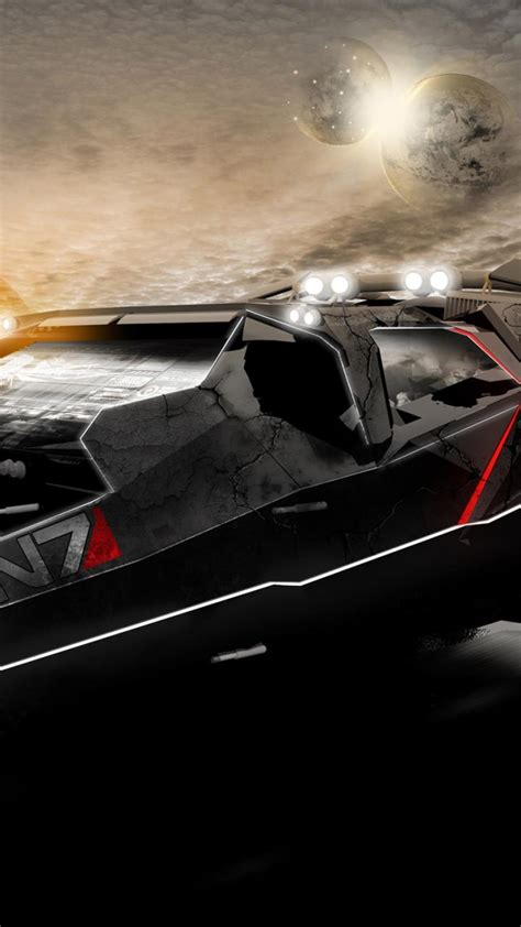 mass effect  car wallpaper