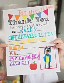 Printable Teacher Appreciation Thank You